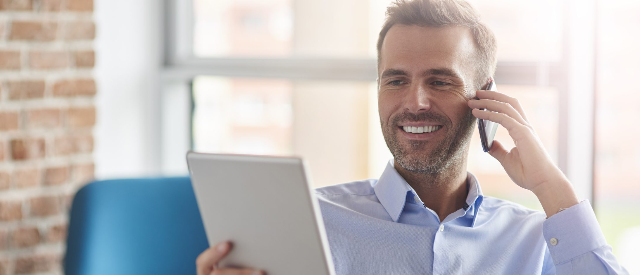 Business leader reading customer data   How knowing your customer can save business   Focused Energy outsourced finance cfos